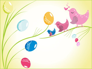 Beautiful Concept For Easter Day
