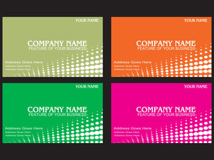 Beautiful Corporate Cards