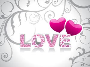 Beautiful Creative Love Background