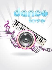 Beautiful Dance Love Background