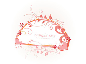 Beautiful Decorated Frame Illustration