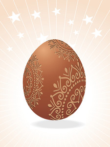 Beautiful Easter Egg Vector
