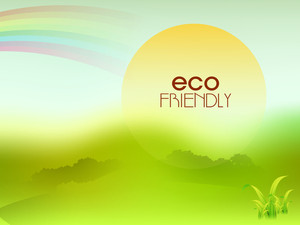 Beautiful Eco Friendly Background
