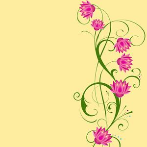 아름다운 꽃 배경입니다.