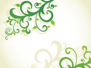 Beautiful Floral Design Background