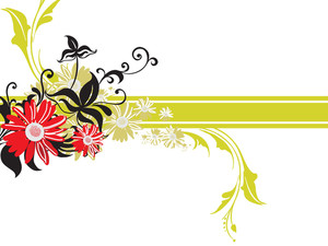 Beautiful Floral Pattern Illustration