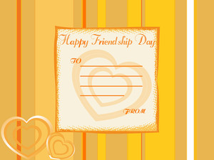 Beautiful Friendship Day Greeting To Present Your Friend 3