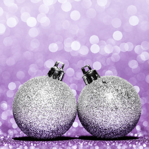 Beautiful Glitter christmas balls