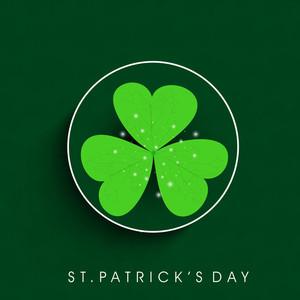 Beautiful Happy St. Patricks Day Background.