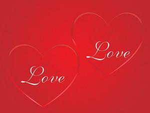 Beautiful Heart Shape With Love