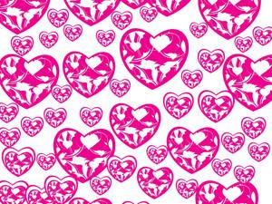 Beautiful Heart With Swirl Design