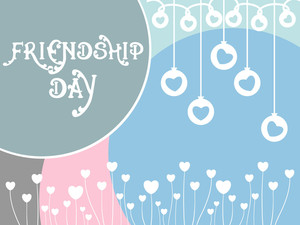 Beautiful Illustration For Friendship Day