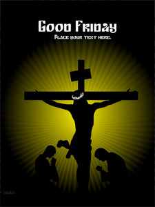 Beautiful Illustration For Good Friday