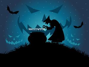 Beautiful Illustration For Halloween