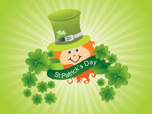 Beautiful Illustration For Patrick Day
