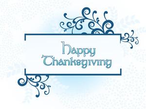 Beautiful Illustration For Thanksgiving