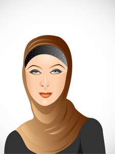 Beautiful Muslim Girl 1.