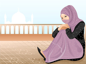 Beautiful Muslim Girl 2.