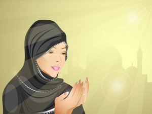 Beautiful Muslim Girl 3.