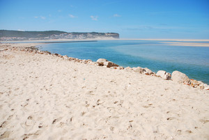 Beautiful Obidos Lagoon In Foz Do Arelho