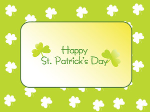Beautiful Patrick's Day Greeting 17 March