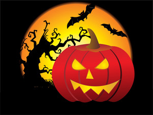 Beautiful Pattern Halloween Background