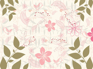 Beautiful Pattern Wallpaper