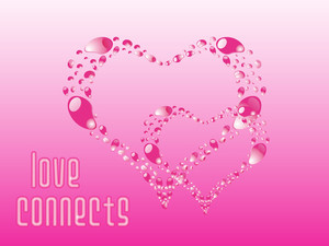 Beautiful Pink Heart-shape Ornament