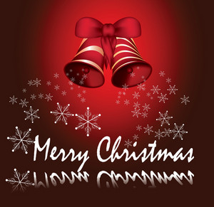 Beautiful Red Christmass Card