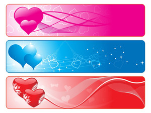 Beautiful Romantic Love Banner