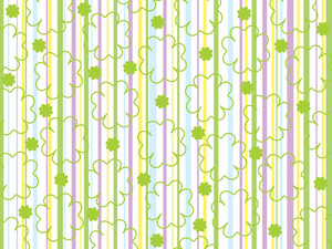 Beautiful Shamrock Background
