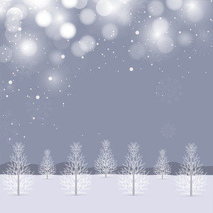 Beautiful Snowflakes Background For Merry Christmas Celebration