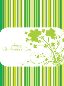 Beautiful St. Patrick's Day Card