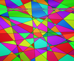 Beautiful Stained Glass Texture