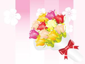 Beautifull Flower Bouque Series Design11