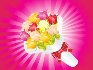 Beautifull Flower Bouque Series Design6