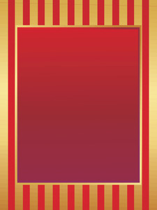 Beautifull Picture Frame In Red