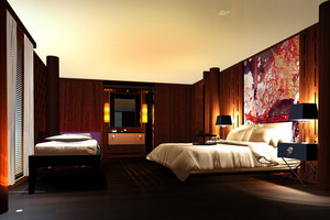 Bedroom, 3d Visualization