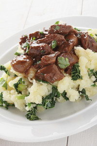 Beef Stew With Colcannon Potato