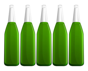 Beer Bottles Vectors