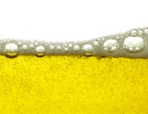 Beer Bubbles Background