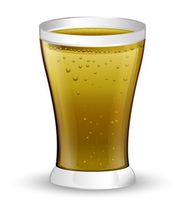 Beer Glass Vector Design