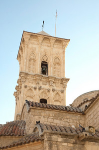 Bell Tower Of St. Lazaros Church