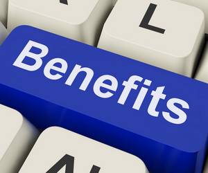Benefits Key Means Advantage Or Reward
