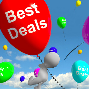 Best Deals Balloons Represents Bargains Or Discounts
