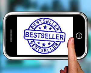 Bestseller On Smartphone Shows First Rated Book