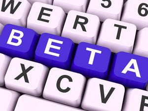 Beta Keys Show Development Or Test Version