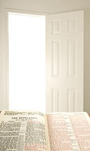 Bible and Open Door