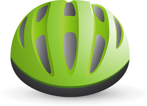 Bicycle Helmet Lite Sports Icon