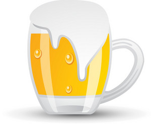 Big Beer Overflowing Icon